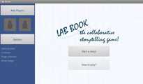 labbook startscreen
